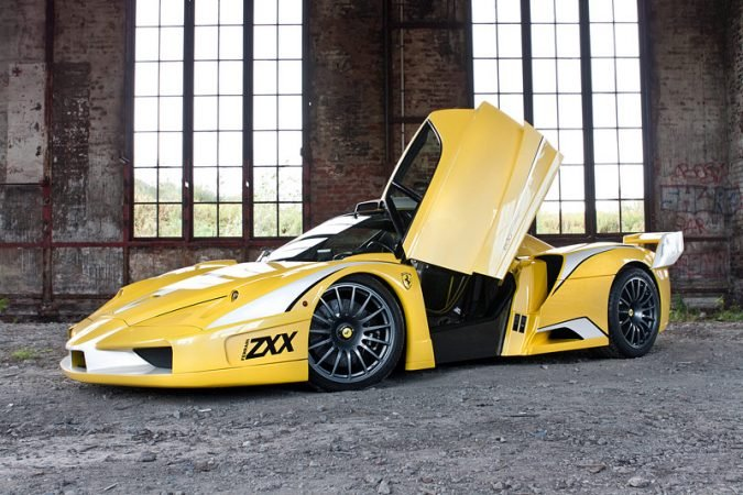 car spider pursuits london wrapped golden chrome gold in ferrari motoring price lux spotted