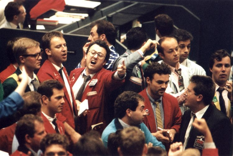 stock-trading-pit