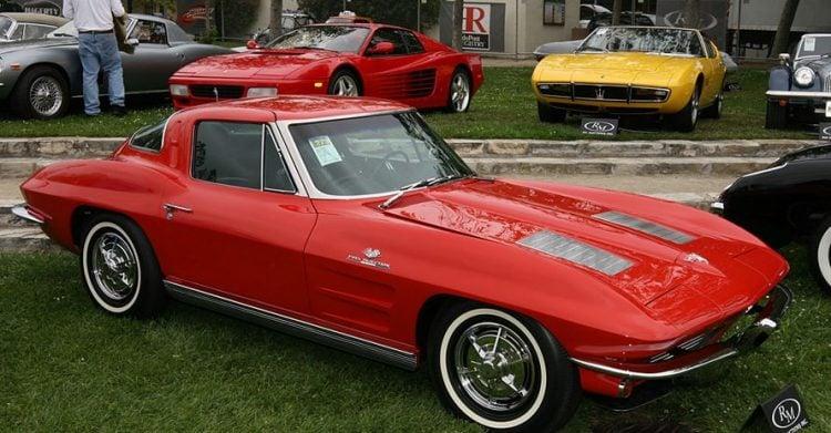 1963 Corvette Stingray Split Window Coupe