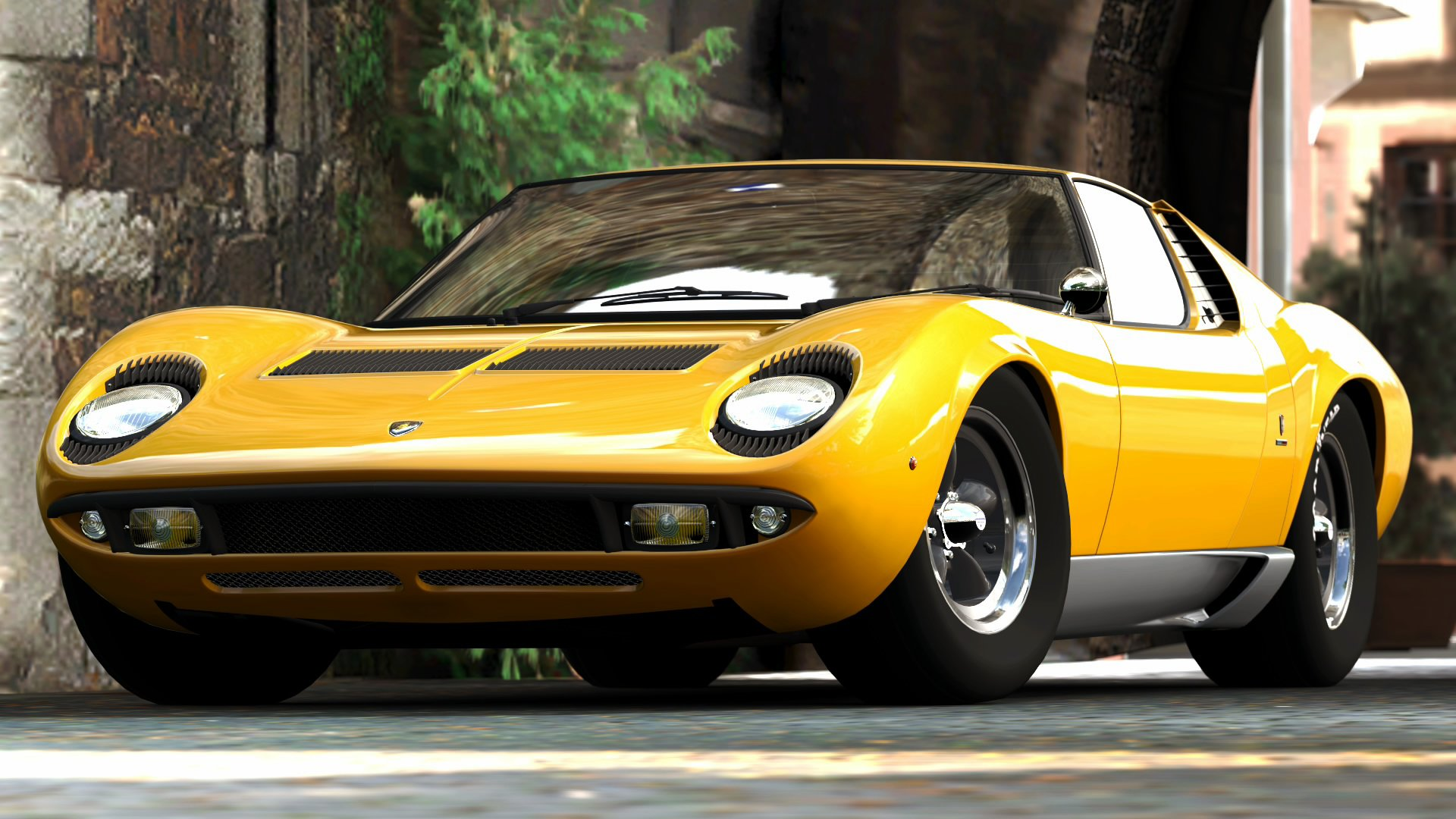 1966 Lamborghini Miura The First Supercar Ever