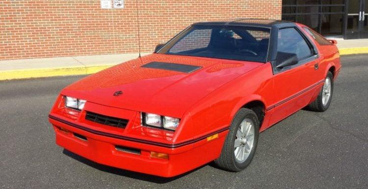 1986 Chrysler Laser XE Turbo