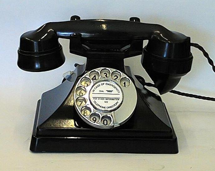 Bakelite Phones
