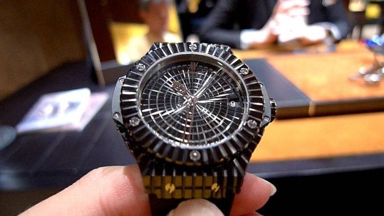 Hublot Black Caviar Band