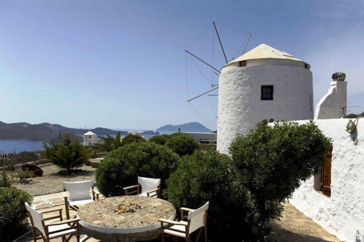 Milos Windmill, Greece