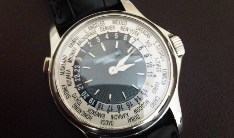 $4 Million Patek Philippe Platinum World Time