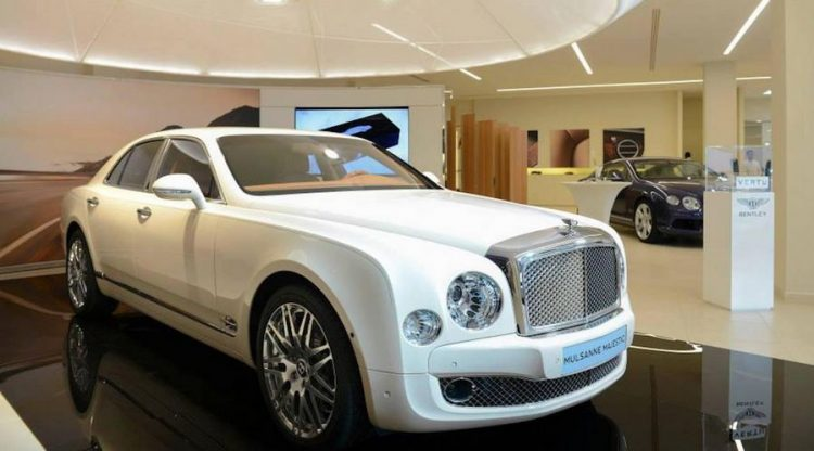 The Bentley Mulsanne Majestic
