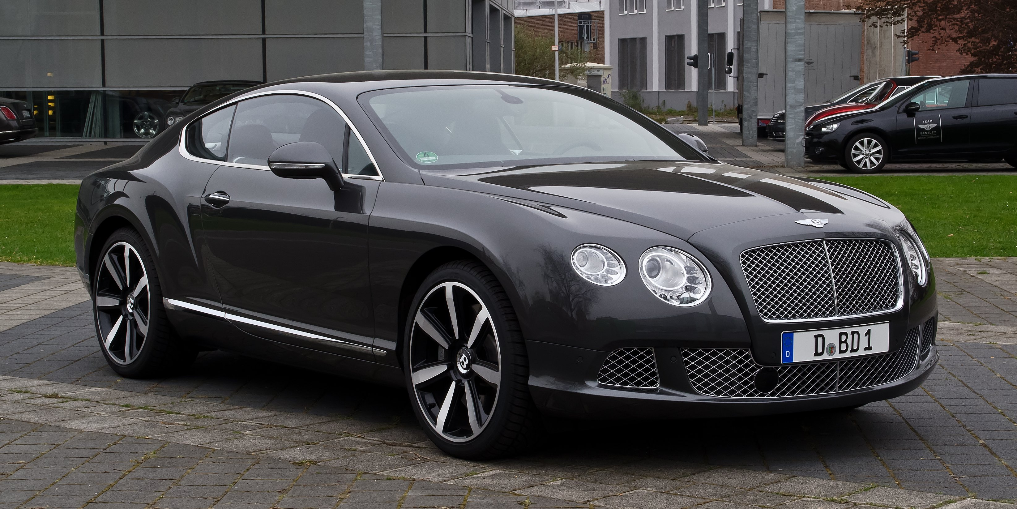Who owns bentley motor cars