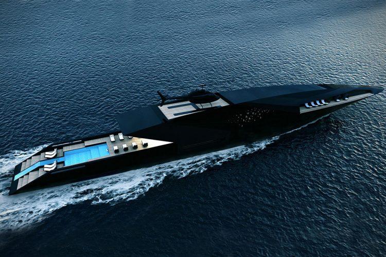 Black-Swan-yacht