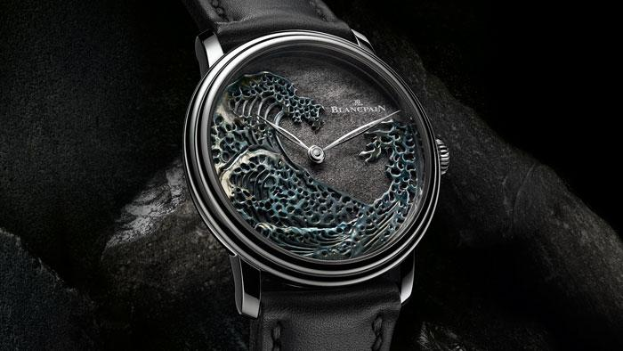 "Blancpain Piece unique, Villeret Metiers d'Art ""The Great Wave"""