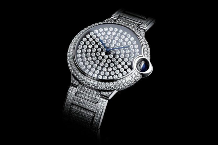 Cartier Ballon Bleu De Cartier Serti Vibrant