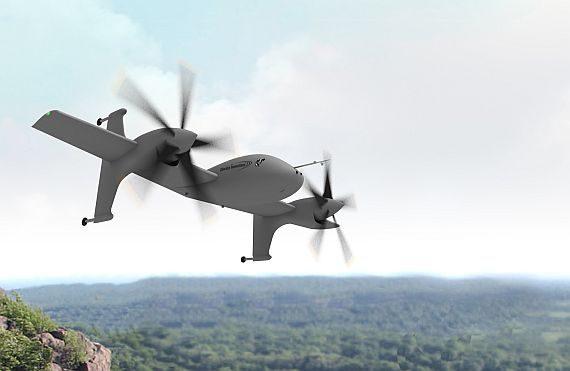 DARPA VTOL X Plane