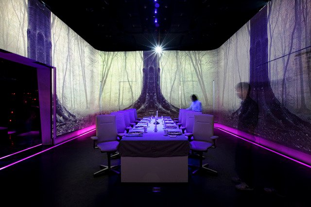 Feeding with Five Senses at Ultraviolet