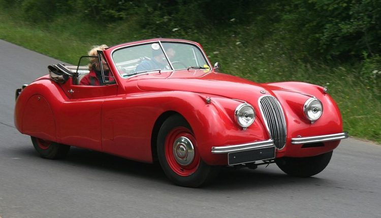 The Jaguar XK120 Was Produced From 1948 To 1954 And Was The First Sports Car  The Company Produced Since It Stopped Making The SS 100 In 1940.