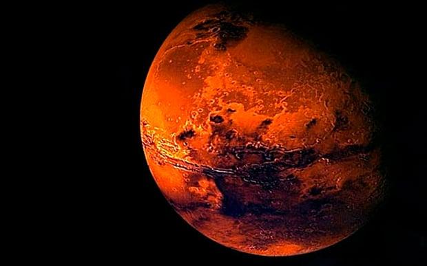 Mars Solar Winds