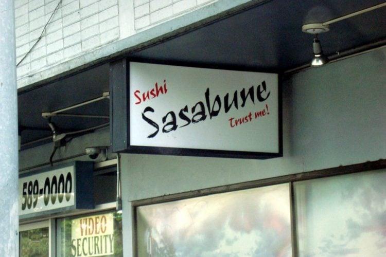 Sushi Sasabune