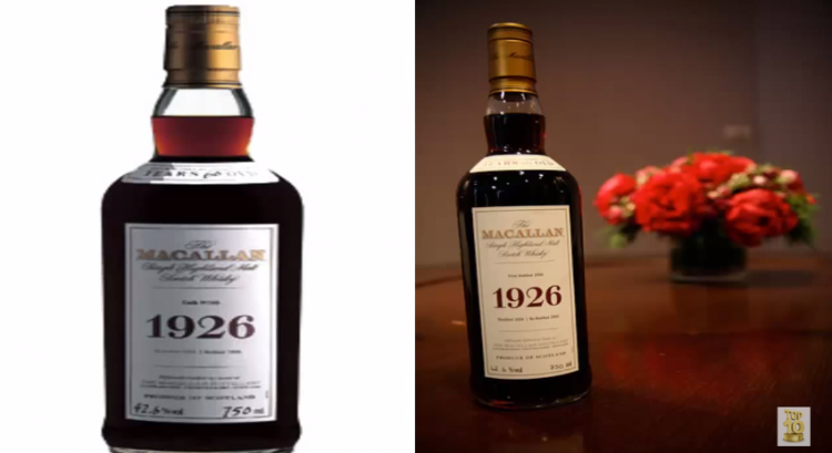 The 10 Most Expensive Whiskey Bottles of All-Time