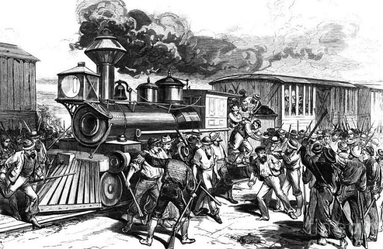 The Southwest Railroad Strike