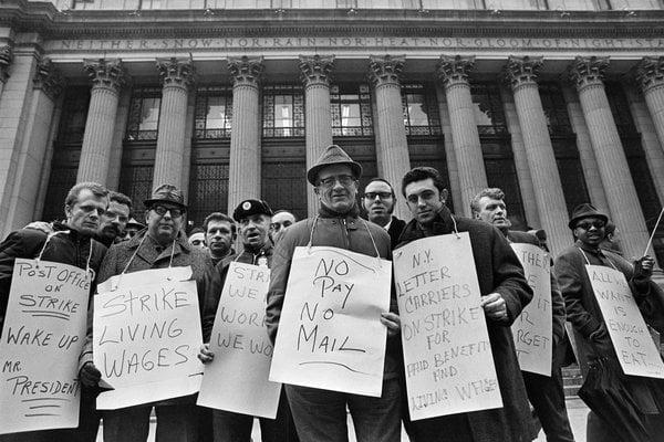 The US Postal Workers Strike