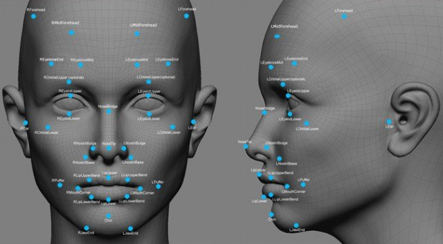 facial-recognition-markers