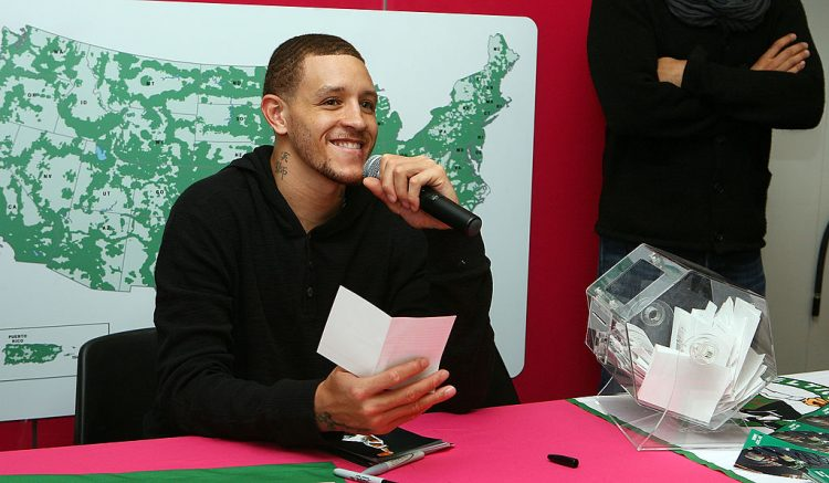 T-Mobile Celebrates Partnership With Boston Celtics With Tip Off Tuesdays And Meet & Greet With Delonte West