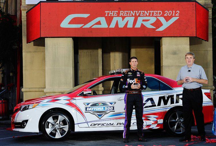 Toyota Unveils 2012 Camry