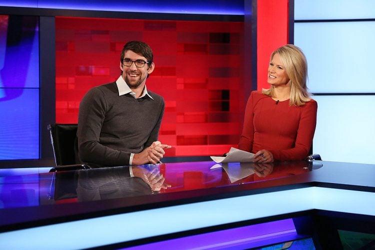 """Michael Phelps Visits """"FOX News"""""""