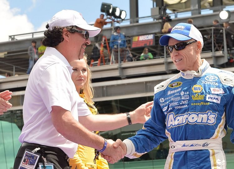 Country Music Stars Attend The Brickyard 400 Presented By Big Machine Record Label