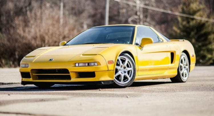 The History And Evolution of The Acura NSX on