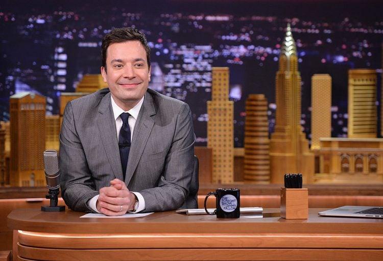 "Drew Barrymore & Adam Sandler Visit ""The Tonight Show Starring Jimmy Fallon"""
