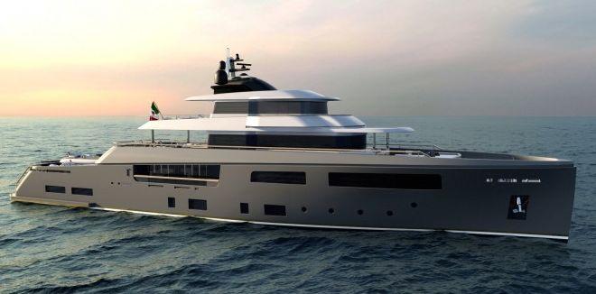 50m Explorer Motor Yacht TESEO