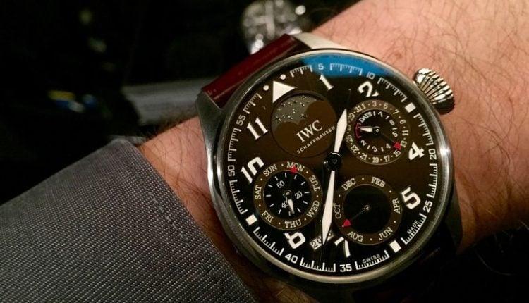 "Big Pilot's Watch Perpetual Calendar Edition ""Antoine de Saint Exupery"""