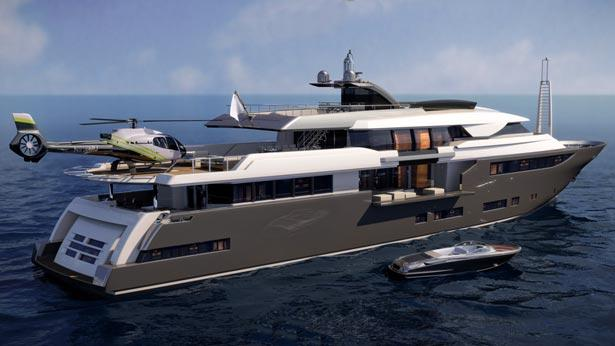 CRN Classic 52m Superyacht