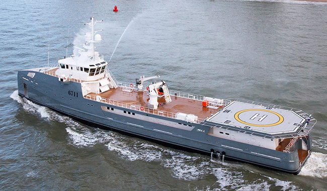 Damen 6711 Support Yacht