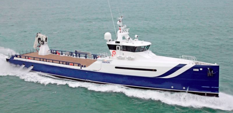 Damen Pursuit Yacht