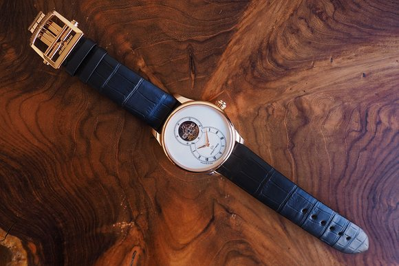 Grande Seconde Tourbillon Ivory Enamel