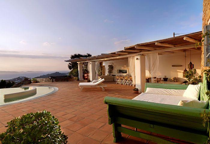 Mykonos Staffed Seafront Villa
