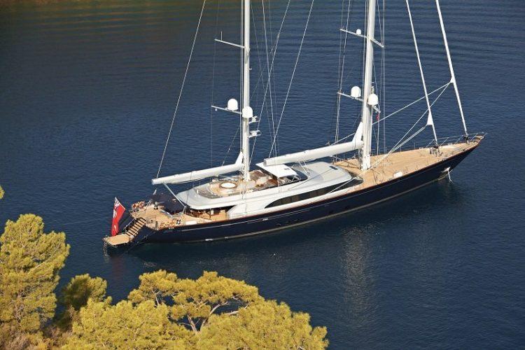SY Melek 184 ft / 56 m Perini Navi Naval Architecture - Ron Holland Builder - Perini Navi - Viareggio, Italy