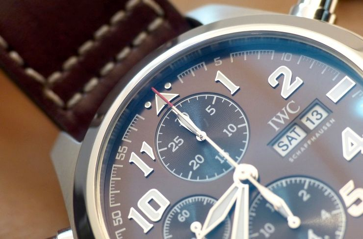 "Pilot's Watch Double Chronograph Edition ""Antoine de Saint Exupery"""
