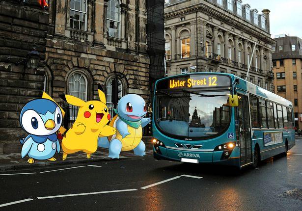 Pokemon Go Bus