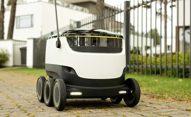 Starship Technologies Robot