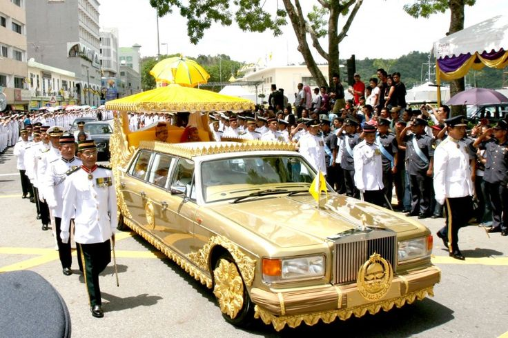 Sultan of Brunei's Rolls Royce Silver Spur Limo