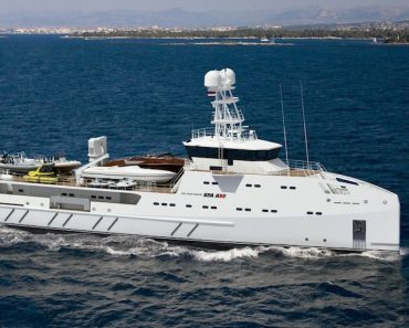 Five of the Finest Damen Yacht Support Vessels
