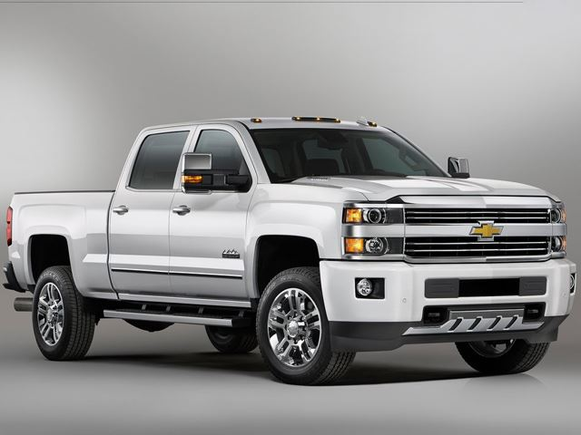2017 Chevy Silverado 1500 Sel 10 Most Aned Full Size Pickup Trucks Of