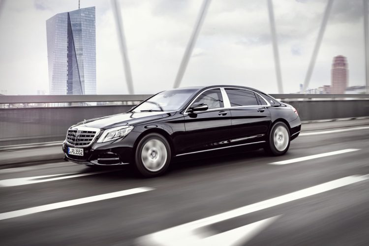 2017 Mercedes-Maybach S600 Guard