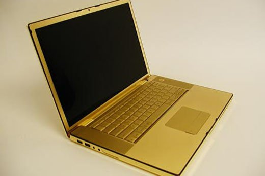 24k Gold MacBook Pro