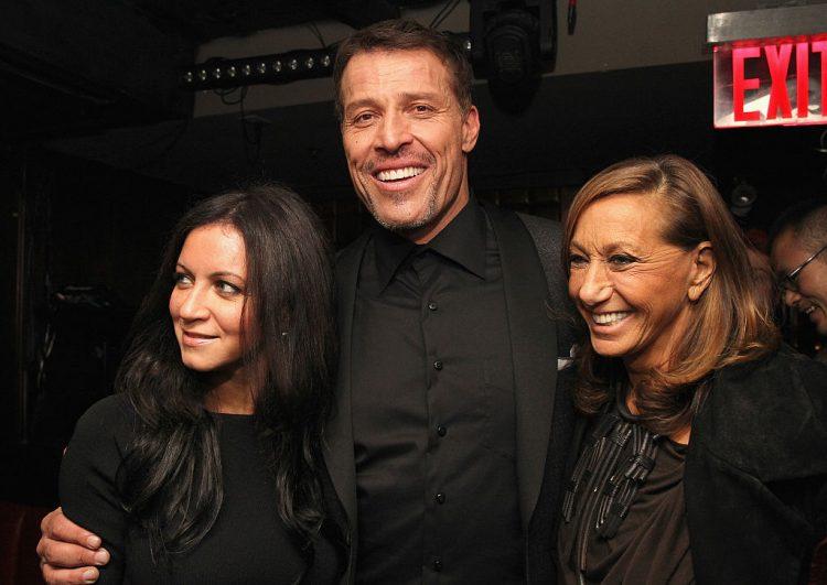 DuJour Magazine's Jason Binn, And Invicta Watches Welcome Tony Robbins To New York