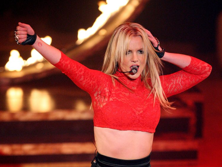 """Britney Spears Performs On ABC's """"Good Morning America"""""""