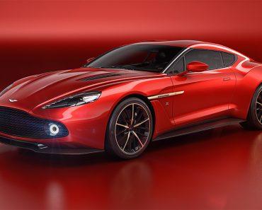 A Closer Look at Aston Martin Vanquish Zagato Volante Roadsters