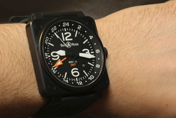 BELL & ROSS BR 01-93 GMT 24H Watch