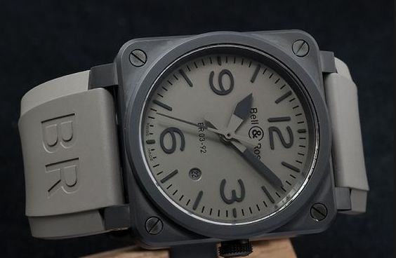 BELL & ROSS- BR 03-92 Commando Watch